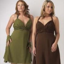 Летние вечерние платья-сарафаны для полных