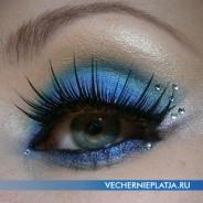 Новогодний макияж к вечернему платью: подробное описание шаг за шагом
