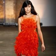 Модные оранжевые платья – создаем яркий образ для теплого сезона