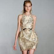 Платье-баллон – модный фасон 2012 года