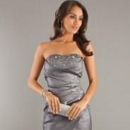 Платье-бандо – подчеркните изящество своей фигуры