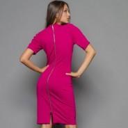Платье с молнией на спине: модная вещь в вашем гардеробе