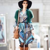 Модные платья в стиле стиляг