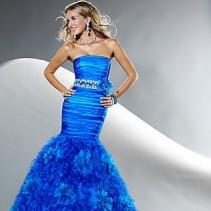 Платье-русалка – фантастическая красота вечернего наряда