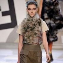 Платья с мехом – элегантные и экстравагантные