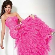 Розовое платье – выбор многих красавиц