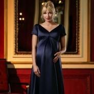 Вечерние платья для беременных – прелести округлых форм